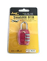 TSA Acceptetd 3 Dial Combination Travel Lock