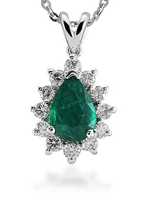 Divas Diamond Collar Diamante Esmeralda