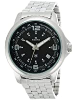 Maxima Analog Black Dial Men's Watch - 24111CMGI