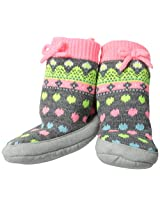 Carter's Baby-Girls Newborn Girls Fairisle Slipper Socks
