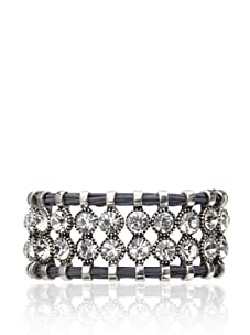 Rolf Bleu Montana Bold Collection Adjustable Bracelet (Charcoal)
