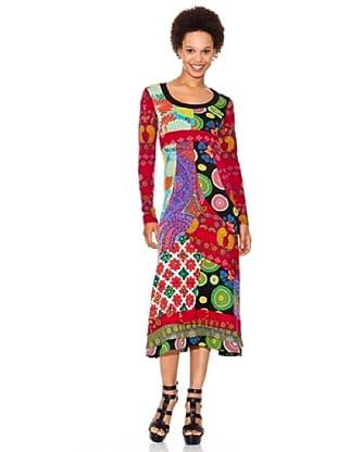 Desigual Vestido Roxanna (fresa)