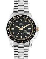 Maxima Attivo  Analog Black Dial Men's Watch - 37840CMGI