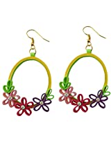 Designer's Collection Paper Quilling Ear Rings for Women-DSERA015
