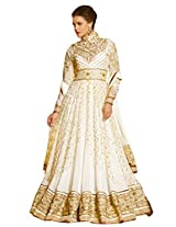 New Designer and Party wear cream Salwar Suit FA230-9010