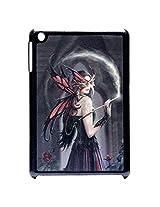 3D Effect Beautiful Girl With Mask Hard Back Case Cover For Ipad Mini / Ipad Mini 2