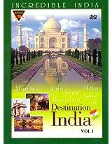 Destination India: Incredible India (Vol. 1) (DVD)