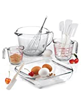 Anchor Hocking 9 Piece Mix and Measure Set Including Kitchen Gadgets