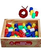 Little Genius Beads - Cylinder (Thin)
