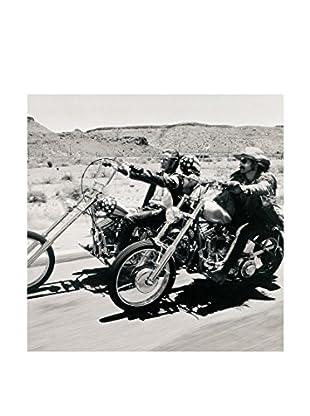 Artopweb Wandbild Anonymous Easy Rider mehrfarbig