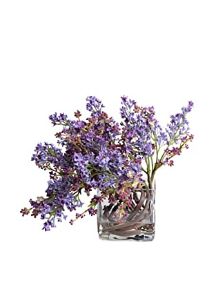 New Growth Designs Lavender Lilac Vase
