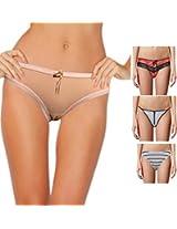 Seasons Pack Of Four Women Thong Panties D110D1102AN_Multi