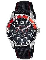 Nautica Sports Analog Black Dial Men's Watch - NTC14670G
