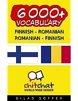 6000+ Finnish - Romanian Romanian - Finnish Vocabulary (ChitChat WorldWide) (Finnish Edition)