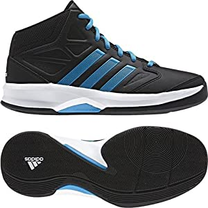 Adidas Fast Isolation Boys Basketball Shoe Black (12-13 Yrs)