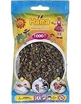Bulk Buy:Hama Dark Brown 207 12 Midi Beads 1,000 Count (6 Pack)