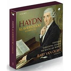 Haydn: Klavierstücke by Van Oort(11cd)の商品写真