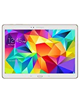 Samsung Galaxy Tab S SM-T805 Tablet (10.5-inch, 16GB, WiFi, 3G, 4G LTE, Voice Calling), Dazzling White