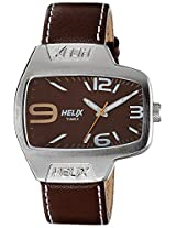 Helix Analog Brown Dial Men's Watch - TI020HG0200