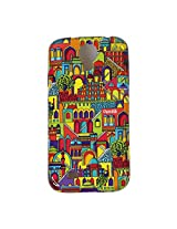 Chumbak Monuments Case for Samsung Galaxy S4 (Multicolor)