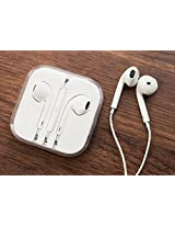 APPLE New 100 % OEM High Quality Earphones with Remote and Mic Control Bulk Packing