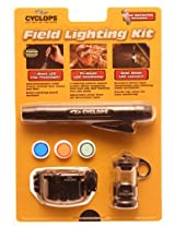 CYCLOPS LED Field Lighting Kit 3-Piece Flashlight Headlamp Lantern CYC-FHLC
