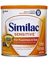 Similac Sensitive Infant Formula Powder - 253 gm [Baby Product]