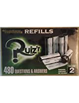 Game Show Companion Refills, Quizr, 480 Questions & Answers (Volume 2)