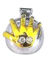 Surat Diamond .925 Sterling Silver Diamond Pendant
