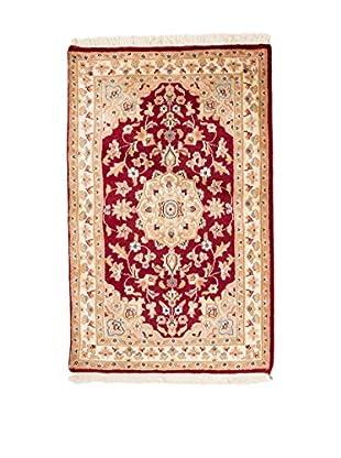 QURAMA Teppich Kashmirian rot/beige