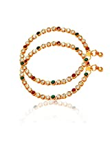 RATNAKAR MULTI GOLDEN ANKLET FOR WOMEN