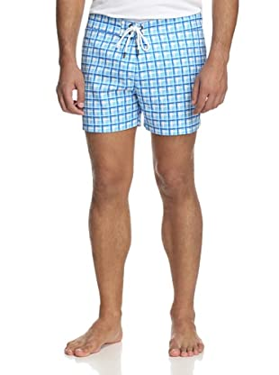 Parke & Ronen Men's Solid Boardshort (Rancho Blue)