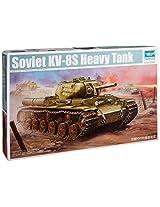 Trumpeter Soviet KV8S Heavy Tank Model Kit (1/35 Scale)