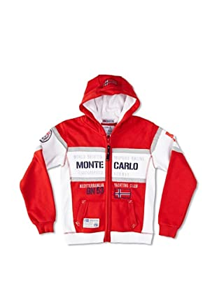 Geographical Norway Sweatjacke Ganton rot