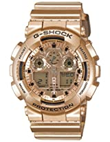 Casio G-Shock Special Edition Analog-Digital Gold Dial Men's Watch - GA-100GD-9ADR (G544)