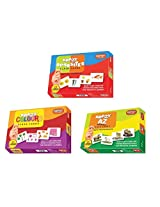 Krazy flash cards Set of 3(Opposite,A to Z Animals,Colours)