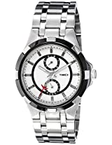 Timex Analog white Dial Men's Watch - I300