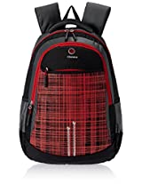"Genius Nylon Children's Backpack (GN 1516 - 17""-RED)"