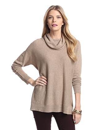 Cullen Women's Cowl Neck Cashmere Sweater (Sable)