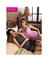 COMBO - 2 Beautiful Nightwears with panty - Discounted, NGS8588-84 and NGS8588-59