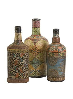Set of 3 Circus Bottles