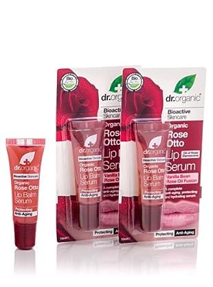 Dr.Organic Set 3 Suero de Labios de Rosa de Mosqueta 10 ml (u)