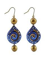 Avarna Terracotta Dangle & Drop Earings For Women - Multi-Colour(Era0014)