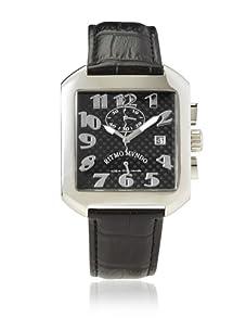 Ritmo Mundo Unisex Piazza Black/Carbon Stainless Steel Watch