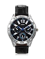 Calvino Men's Black Dial Watch CGAS-151480_Blk-Blk