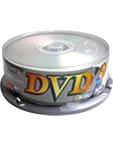 Ridata Double Layer DVD-R 4X silver matte in 25 pcs cakebox