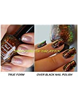 Kleancolor Nail Lacquer Chunky Holo Black 236