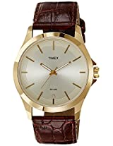 Timex Classics Analog Gold Dial Men's Watch - TW000X101