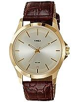Timex Classics Analog Gold Dial Men's Watch - TW000X101