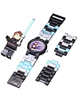 LEGO Kids 9002052 Star Wars Anakin Stainless Steel Watch With Minifigure